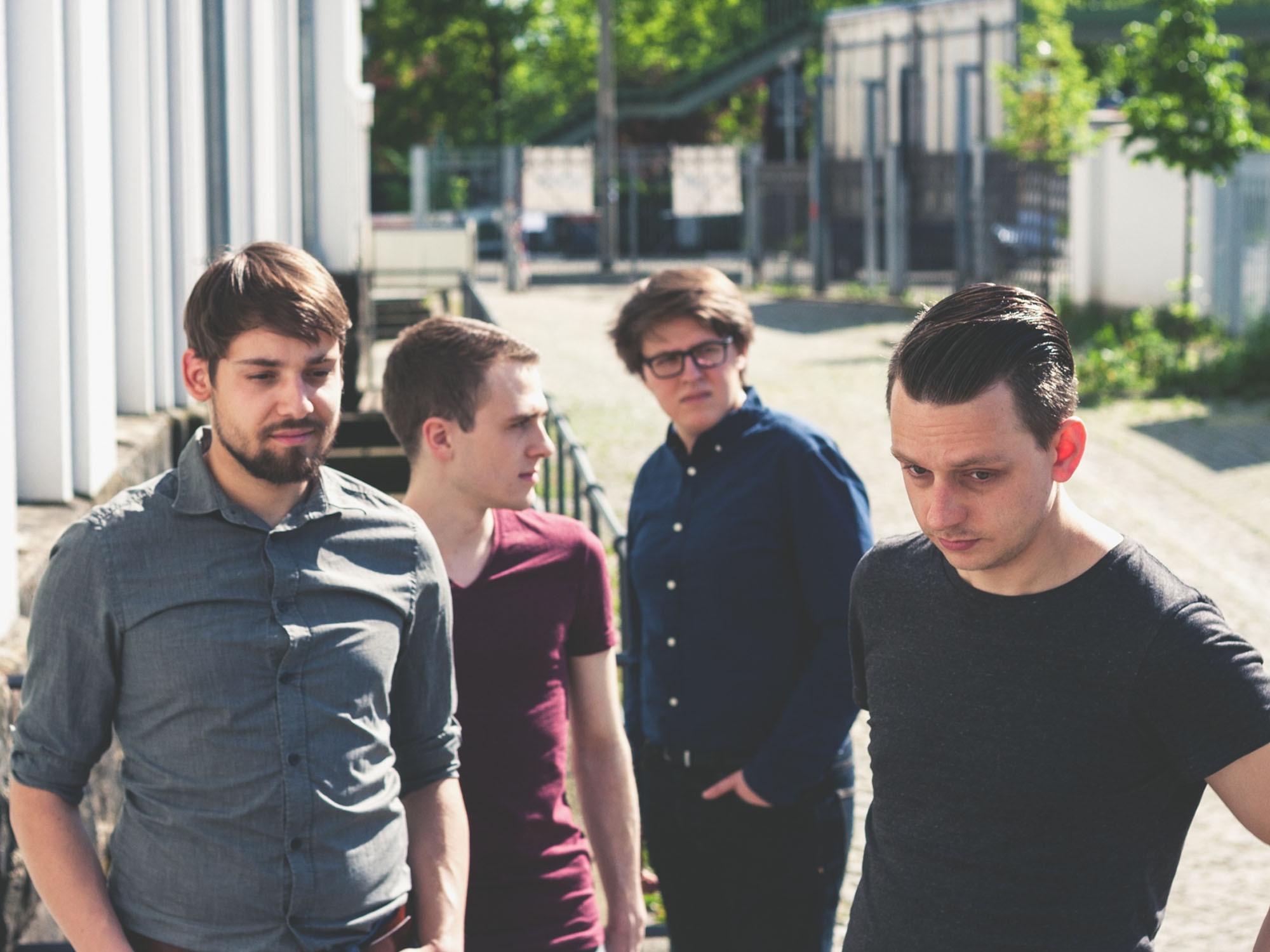 Jonethen Fuchs & The Woods beim Hutfestival